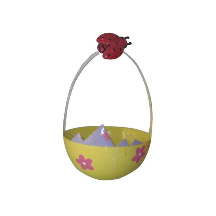 Special egg Design Three Styles Iron Home Decoration