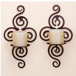 wall decoration candlestick, simple fashion candlestick