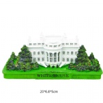 Resin crafts 3D Model Souvenir Building White House building Washington D.C. Gifts