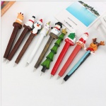 Advertising Ball Pen with resin christmas Decorations for promotional gift