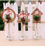 hanging ornaments foam star snowflake house for christmas tree decoration